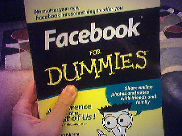 Plaatje Steven facebook voor dummies