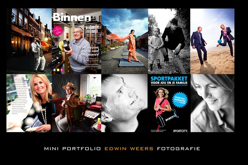 Mini portfolio Edwin Weers